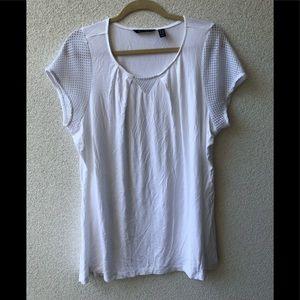 🦋 H by Halston white blouse 1 X